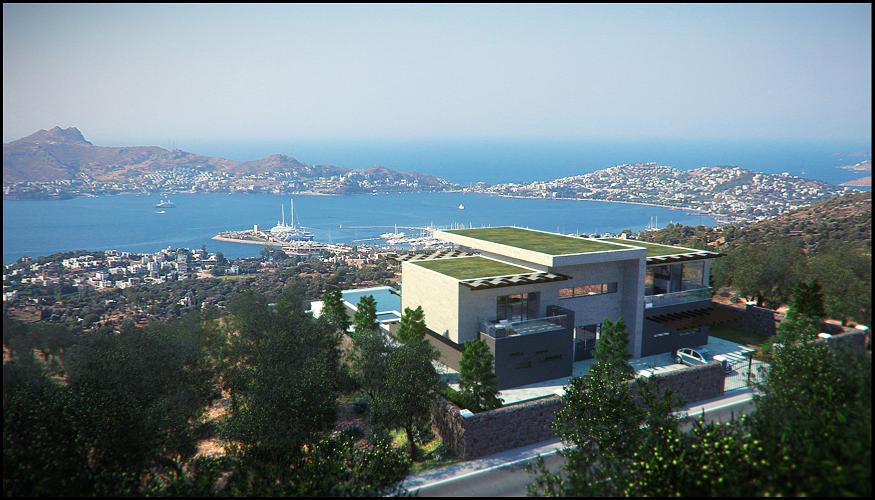 exclusive bodrum villa