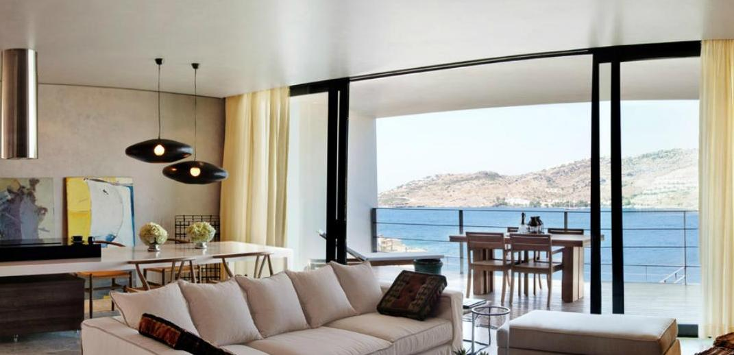 Yalikavak Bodrum seafront villa for sale